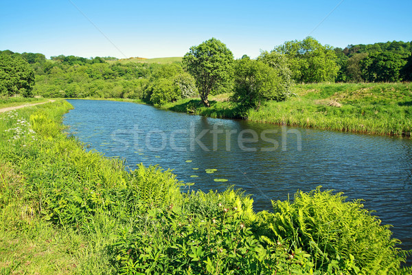 Forth and Clyde Canal in Scotland  Stock photo © Julietphotography