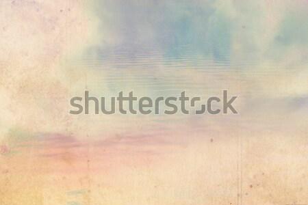 Cielo nubes textura luz Foto stock © Julietphotography