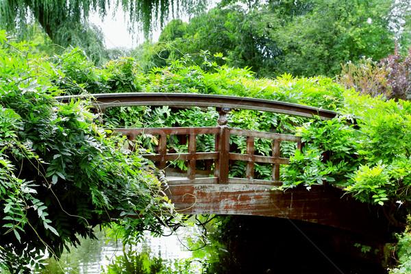 Stock photo: Garden bridge, London