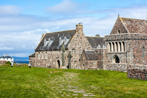 Iona Abbey, Scotland Stock photo © Julietphotography