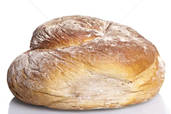 Savoureux fraîches pain chignon baguette Photo stock © juniart