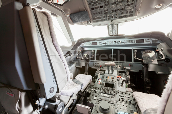 Inside view Cockpit G550 Stock photo © juniart