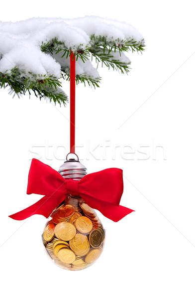 Noël temps evergreen épinette arbre traditionnel Photo stock © kaczor58