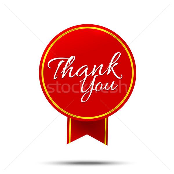 ありがとう バナー にログイン メッセージ シンボル ベクトル ストックフォト © kaikoro_kgd
