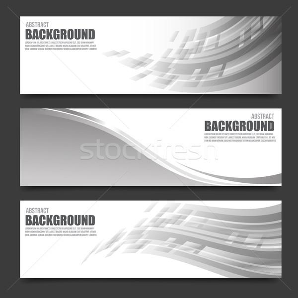 抽象的な バナー 明るい 光 テクスチャ デザイン ストックフォト © kaikoro_kgd