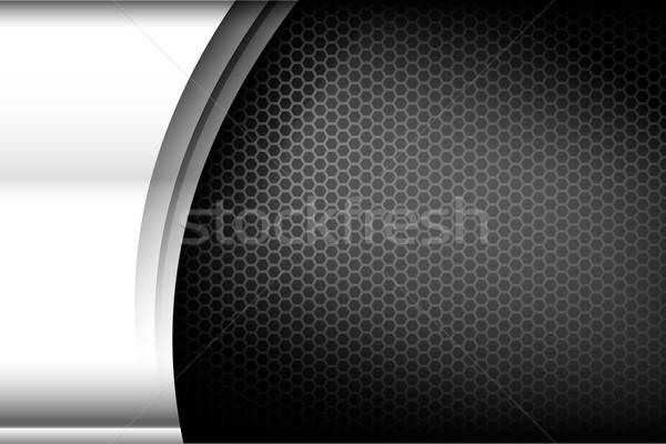 Metallic steel and honeycomb element background texture 004 Stock photo © kaikoro_kgd