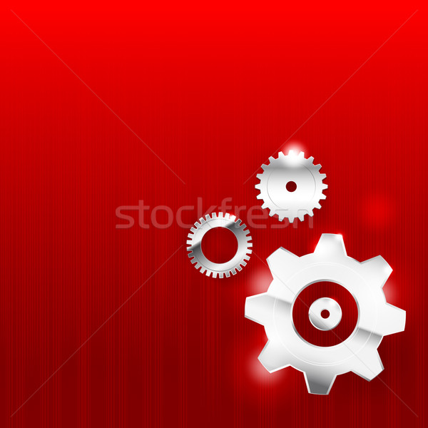 Abstract background 0011 Gear industrial technology Stock photo © kaikoro_kgd