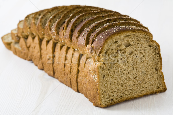 Loaf of rye bread Stock photo © Kajura