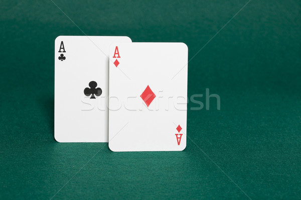 Poche meilleur main poker Photo stock © Kajura