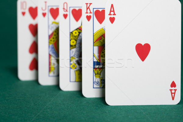 Royal flush Stock photo © Kajura