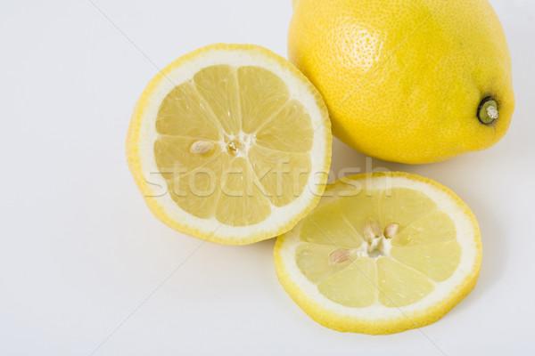 Whole and sliced lemons Stock photo © Kajura