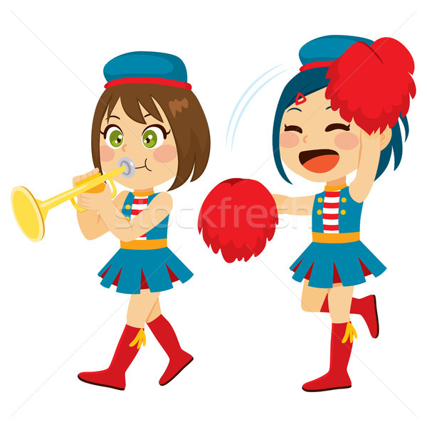 Stock photo: Marching Band