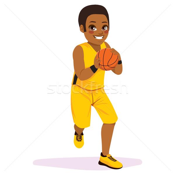 Basketball Player Running Stock photo © Kakigori