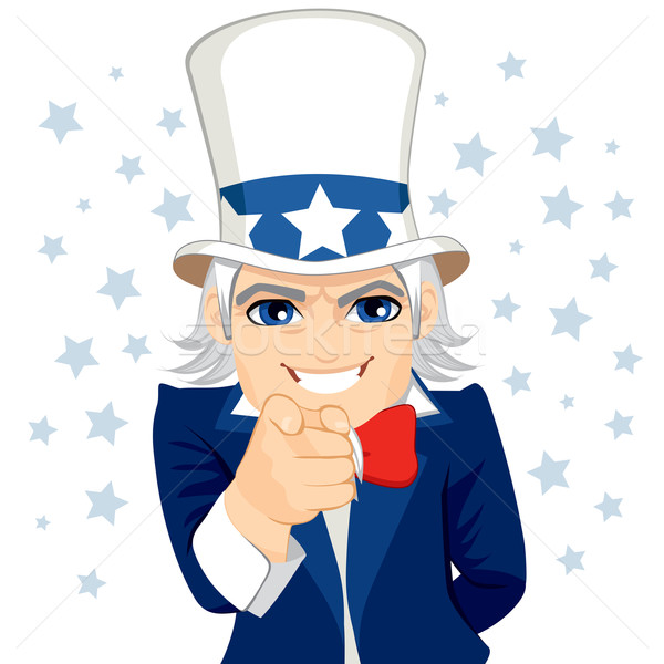 Uncle Sam Wants You Stock photo © Kakigori