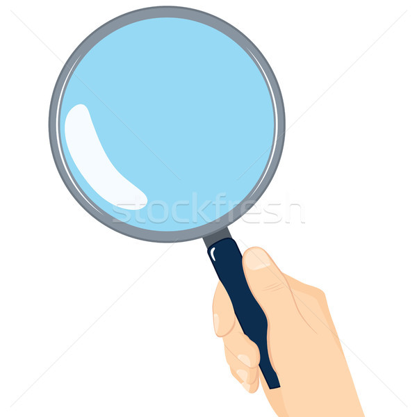 Magnifying Glass Stock photo © Kakigori