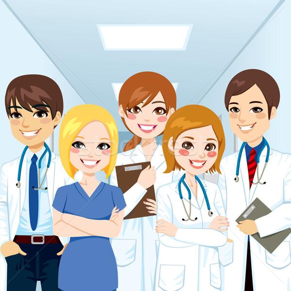 Medical Team Professionals Stock photo © Kakigori