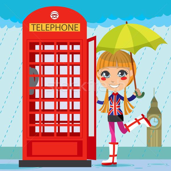 London Girl Stock photo © Kakigori