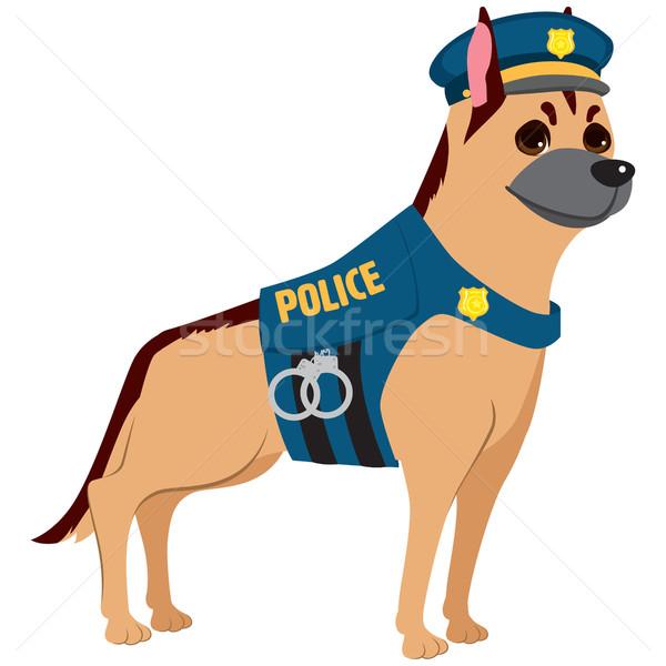 Police Dog Stock photo © Kakigori