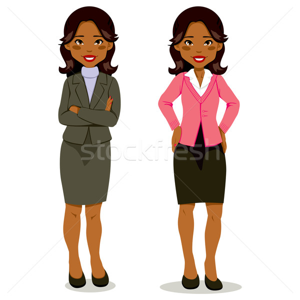 Black Executive Woman Stock photo © Kakigori