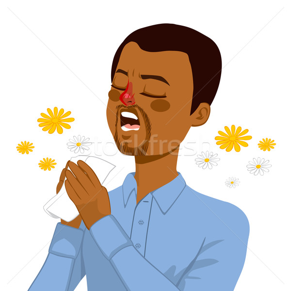 Man Going To Sneeze Stock photo © Kakigori
