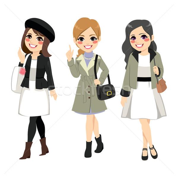 Women Fashion Chic Stock photo © Kakigori
