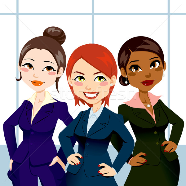 Confident Business Women Stock photo © Kakigori