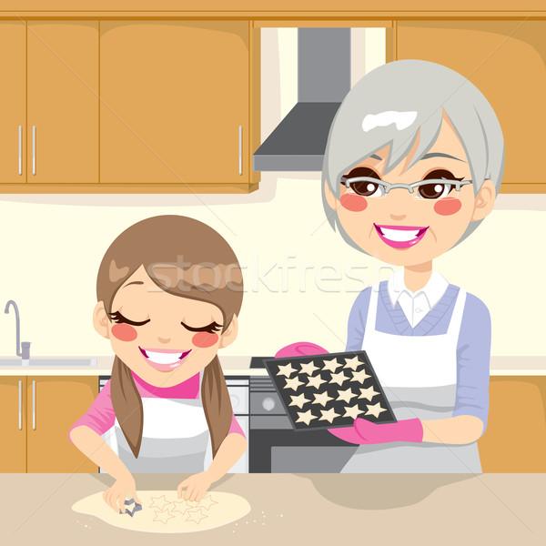Making Cookies Together Stock photo © Kakigori