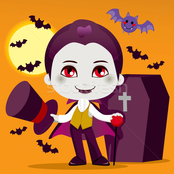 Little Count Dracula Stock photo © Kakigori