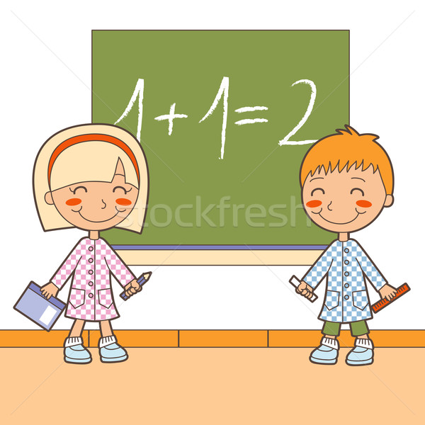 School Math Class Stock photo © Kakigori