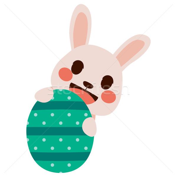 Easter Bunny Egg Stock photo © Kakigori