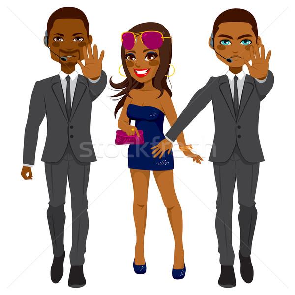 ストックフォト: 歌手 · プロ · アフリカ系アメリカ人 · 男性 · 有名な · 開く