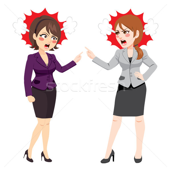 Stock photo: Businesswomen Arguing