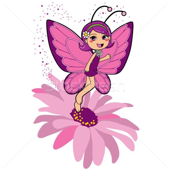 Butterfly Fairy Stock photo © Kakigori