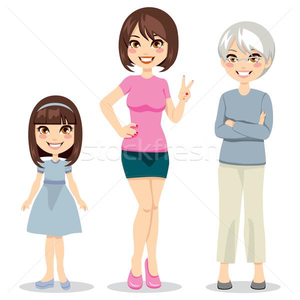 Age of Women Stock photo © Kakigori