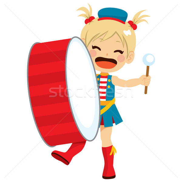 Stock photo: Band Drums