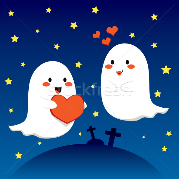 Stock photo: Lovely Ghosts