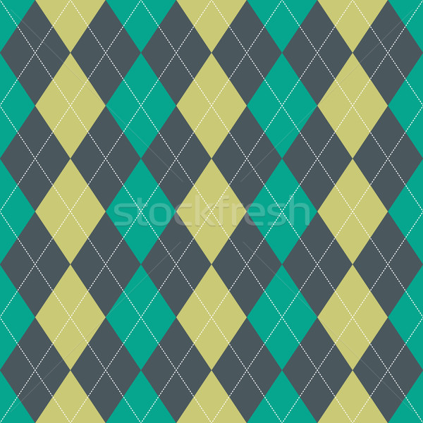 Seamless Argyle Pattern Stock photo © Kakigori