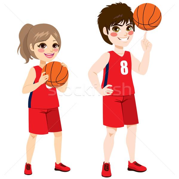 Basketball Children Stock photo © Kakigori