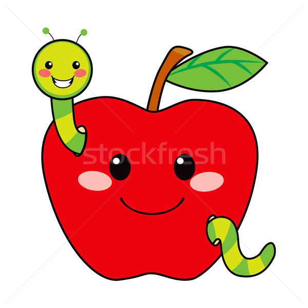 Sweet Apple Worm Stock photo © Kakigori