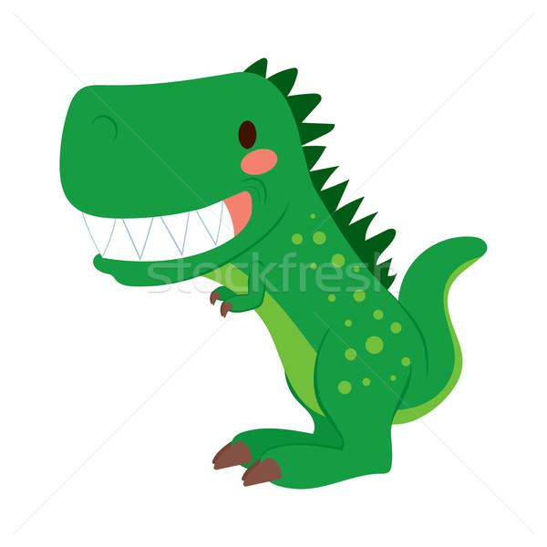 Funny T-rex Dinosaur Stock photo © Kakigori
