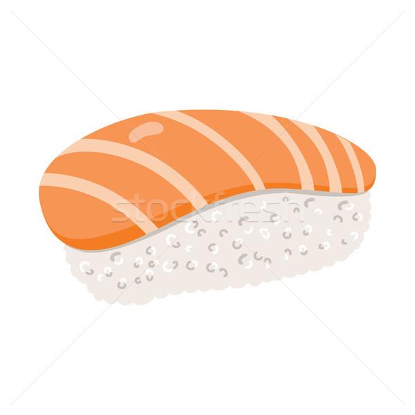 Salmon Sushi Stock photo © Kakigori