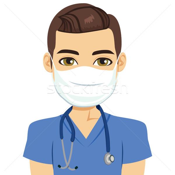 Mask Nurse Male  Stock photo © Kakigori