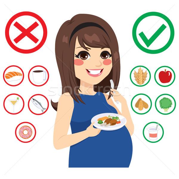 Food For Pregnant Woman Stock photo © Kakigori