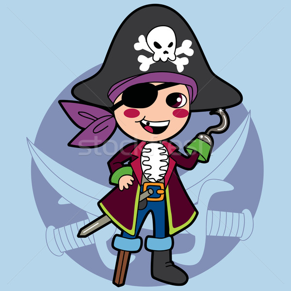 Pirate Boy Costume Stock photo © Kakigori
