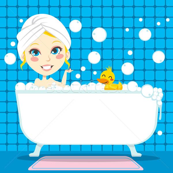 Soothing Bubble Bath Stock photo © Kakigori