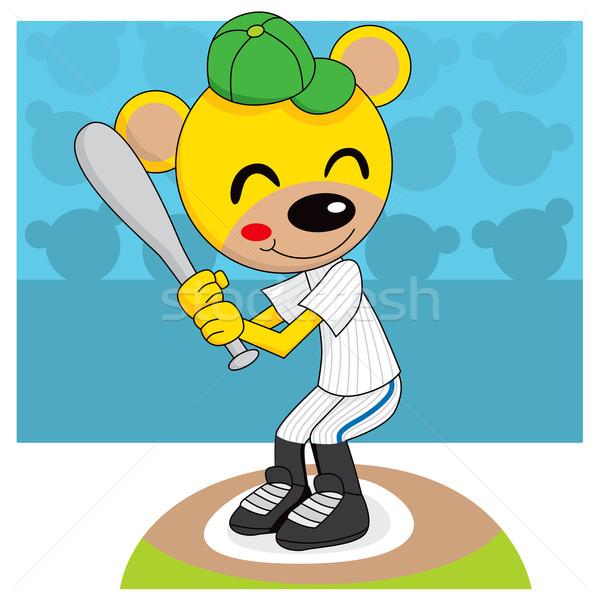 Baseball Teddy Bear Stock photo © Kakigori