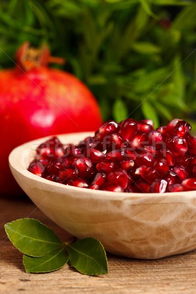 Stock photo: Grenadine seeds and fruit