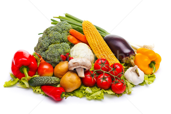Colorful vegetables Stock photo © kalozzolak