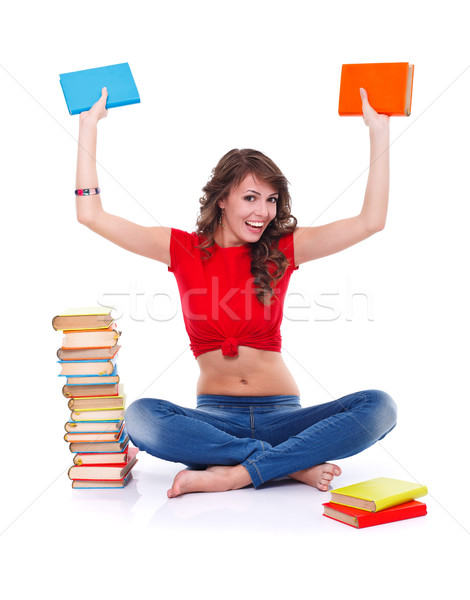 The pleasure of reading Stock photo © kalozzolak