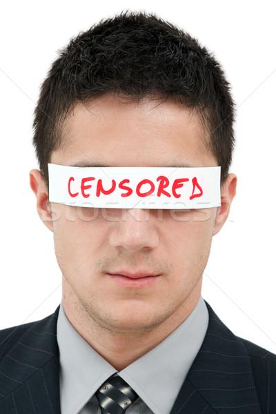 Censored Stock photo © kalozzolak